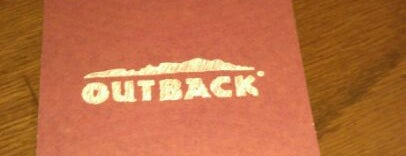 Outback Steakhouse is one of Places I Like to Eat.