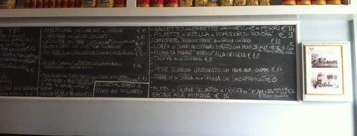 Osteria Pistoia is one of ristoranti Roma.