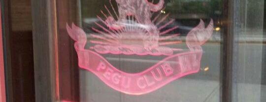 Pegu Club is one of bars.