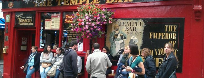 The Temple Bar is one of Favorite Nightlife Spots.