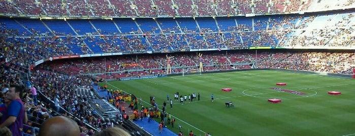 Camp Nou is one of Football Stadiums to visit before I die.