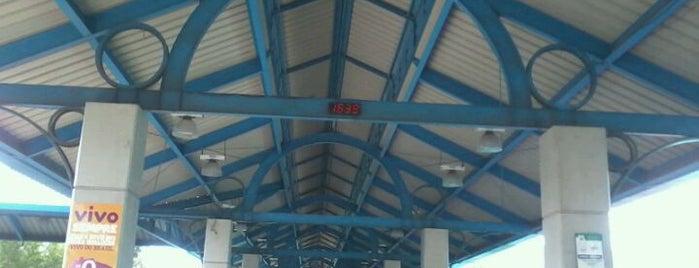Terminal de Integração do Rio Tavares (TIRIO) is one of Floripa.