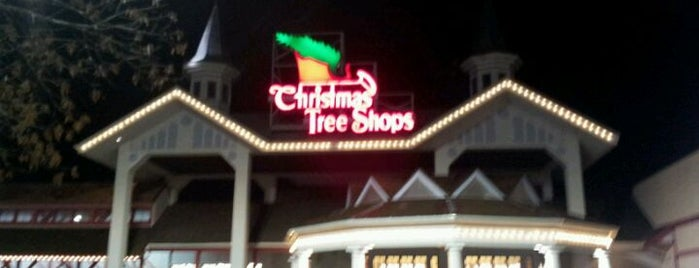 Christmas Tree Shops is one of Favorite places.