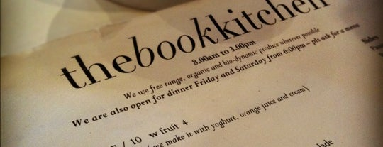 The Book Kitchen is one of Australia City Guide.