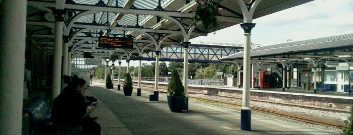 Selby Railway Station (SBY) is one of East Coast Network.