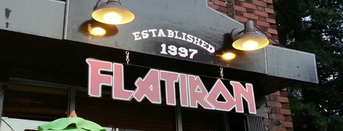 Flatiron is one of Top 10 dinner spots in Atlanta, GA.