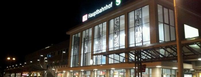 Dortmund Hauptbahnhof is one of Ausgewählte Bahnhöfe.