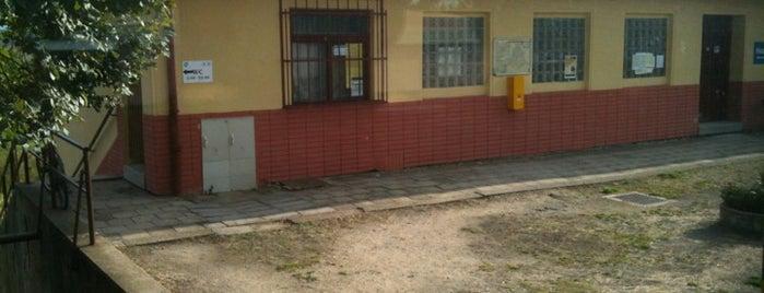 Železniční stanice Újezd u Brna is one of Železniční stanice ČR: Š-U (12/14).