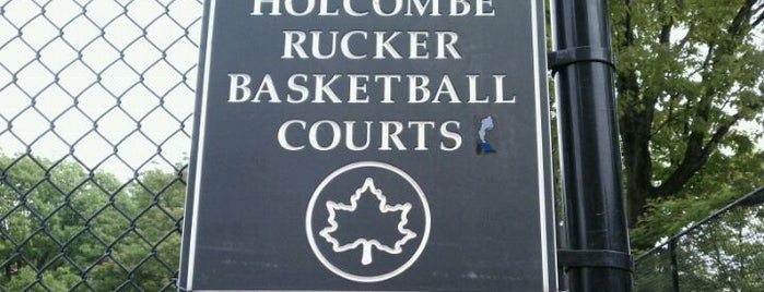 Rucker Park Basketball Courts is one of Basketball Scout.