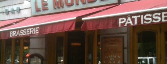 Le Monde is one of My favorite eats in NYC.