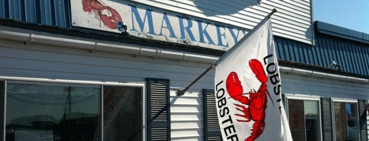 Markey's Lobster Pool is one of BOS.