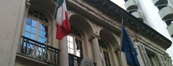 Istituto Italiano di Cultura is one of Alguns lugares que eu adoro.