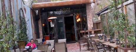 Simone on Sunset is one of Houston's Best Wine Bars - 2012.
