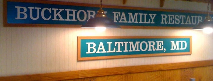 Buckhorn Family Restaurant is one of Best of Baltimore - Diners.