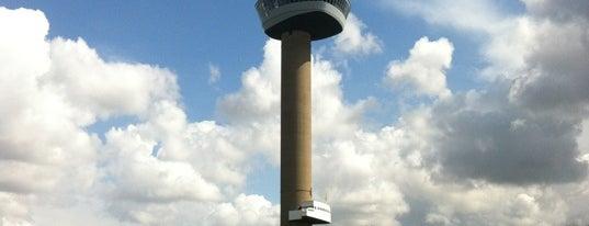 Euromast is one of #010 op z'n #Rotterdamst.