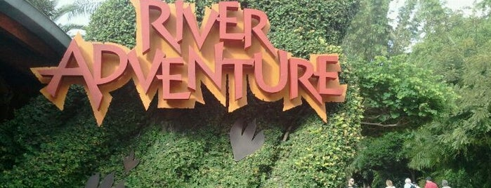 Jurassic Park River Adventure is one of Florida Trip '12.