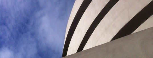 Solomon R. Guggenheim Museum is one of Architecture - Great architectural experiences NYC.