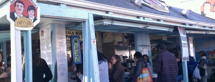 Juan & Maria's Empanada Stop is one of Eat Rochester.