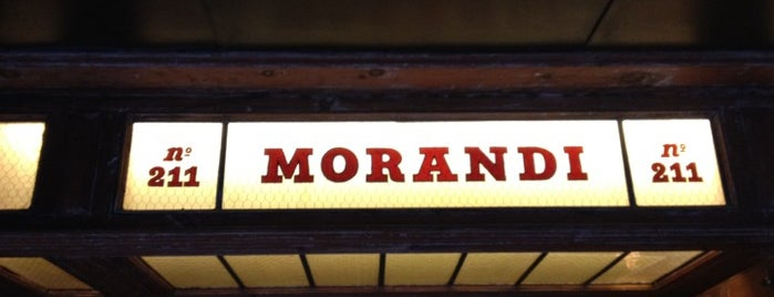 Morandi is one of Eating New York City.