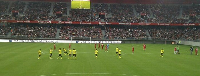 Stade du Hainaut is one of Stades de Ligue 1.