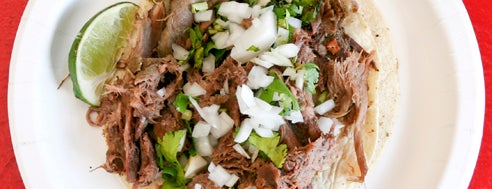 El Aguila is one of NYC's Best Tacos.