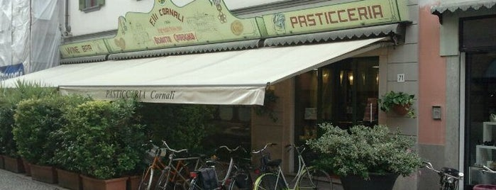 Premiata Pasticceria Cornali is one of Free Wi-Fi.
