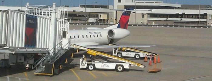 Gate B24 is one of Cincinnati Airport.