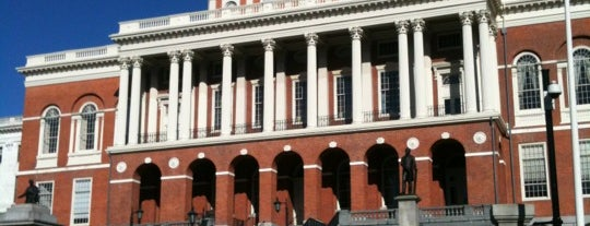 Massachusetts State House is one of Hub History.