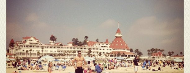 Coronado Beach is one of Beachy Places.