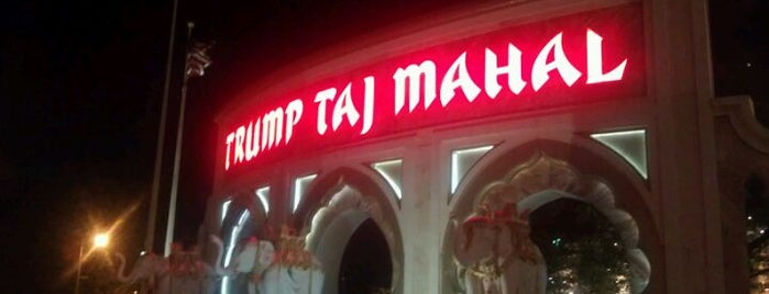 Trump Taj Mahal Casino Resort is one of Atlantic City Casinos.