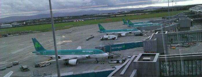 Dublin Airport (DUB) - Aerfort Bhaile Átha Cliath is one of Airports of the World.