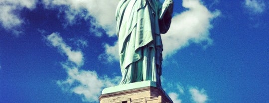 Liberty Island is one of Historic Places.