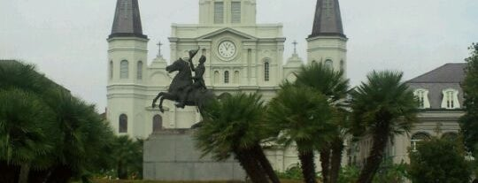 Jackson Square is one of New Orleans City Badge - The Big Easy.