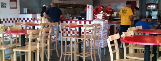 Five Guys is one of Eateries!.