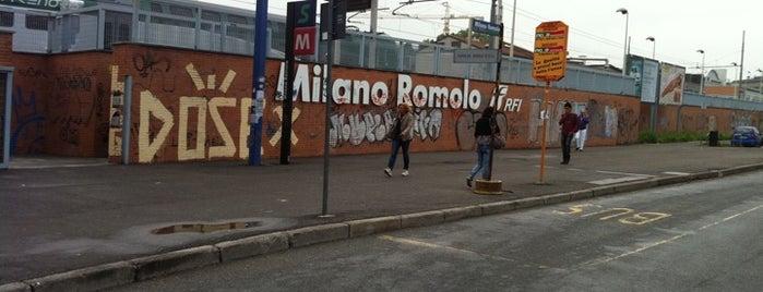 Stazione Milano Romolo is one of Linee S e Passante Ferroviario di Milano.