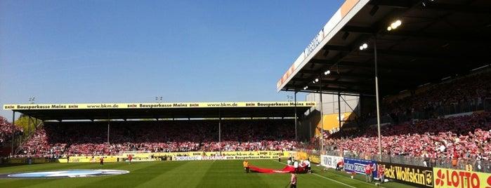 Bruchwegstadion is one of Stadiums.
