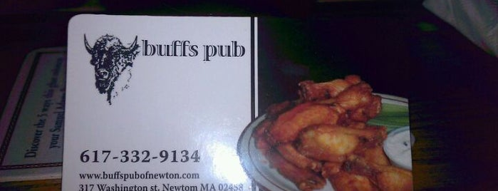Buff's Pub is one of Boston's best buffalo wings.