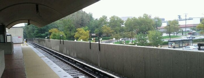 Twinbrook Metro Station is one of WMATA Red Line.