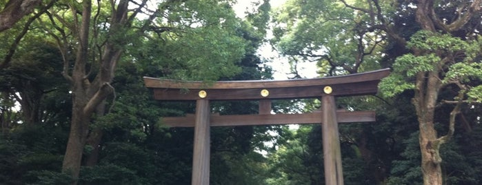 明治神宮 (Meiji Jingu Shrine) is one of Japan must-dos!.