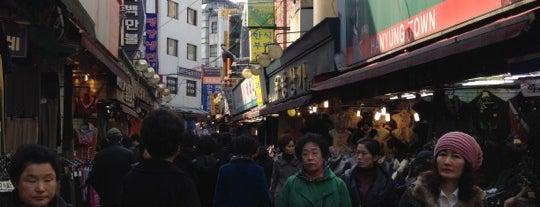 남대문시장 (Namdaemun Market) is one of Seoul City Badge - Lucky Seoul.