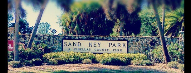 Sand Key Park is one of florida.