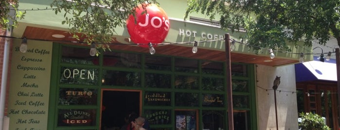 Jo's Coffee is one of i see hot people.
