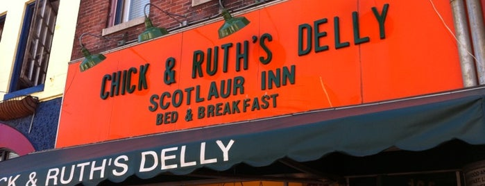 Chick & Ruth's Delly is one of Best of Baltimore - Diners.