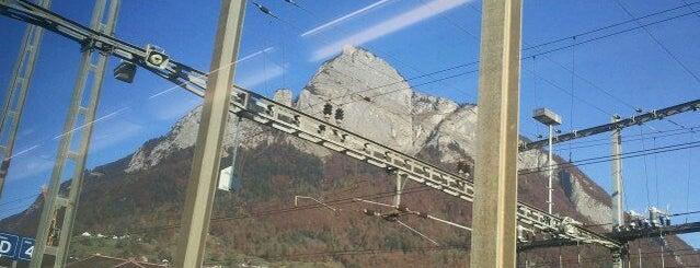 Bahnhof Sargans is one of Bahnhöfe Top 200 Schweiz.