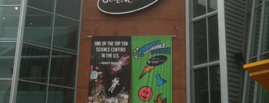 Maryland Science Center is one of Andy's Guide to Baltimore.