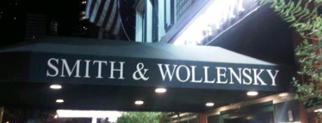 Smith & Wollensky is one of Restaurant week.