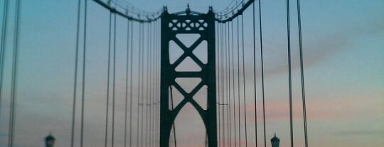 Mount Hope Bridge is one of Landmarks.