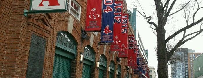 Fenway Park is one of Boston City Badge - Beantown.