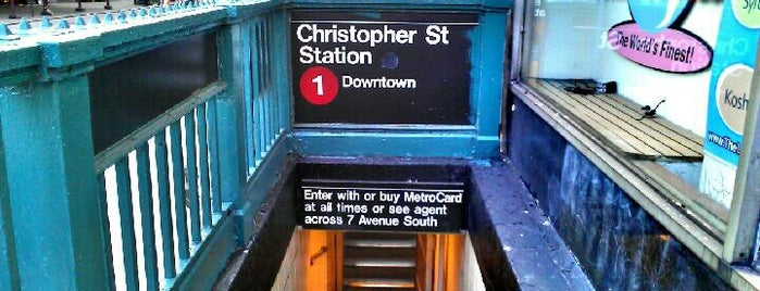 "MTA Subway - Christopher St/Sheridan Square (1) is one of ""Be Robin Hood #121212 Concert"" @ New York!."