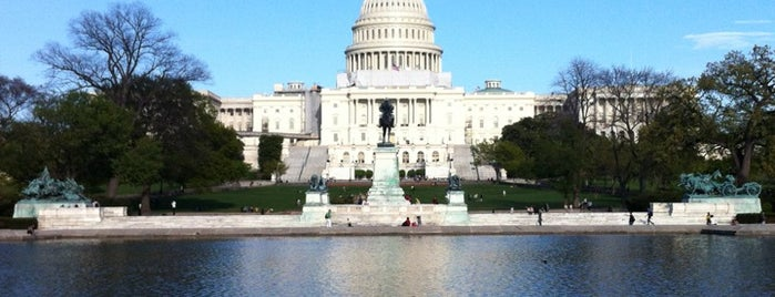 United States Capitol Building is one of NBC Politic Badge.